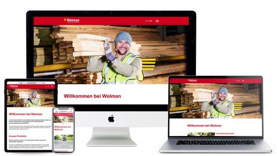 Die neue Website von Wolman
