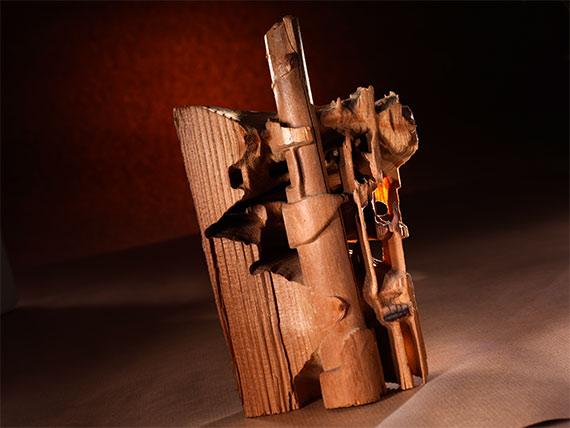 Holzzerstörung durch Termitenbefall