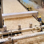 Production of wood-based materials (chipboard, plywood, fiberboard)